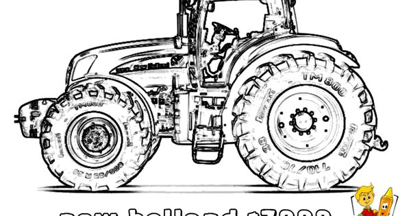 workhorse tractor coloring new t7000 http www