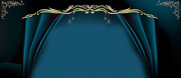 Dark Blue Banner Background Design
