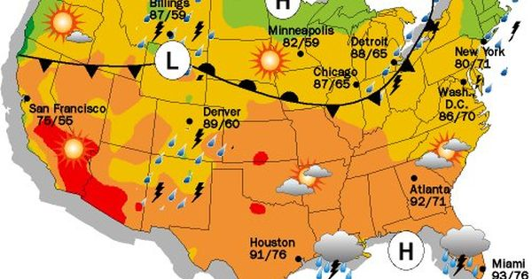 Current Weather Map With Symbols – Weather Map Worksheet