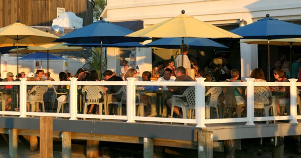the buoy bar waterfront dining on the south shore of