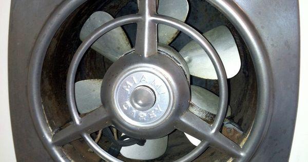 Vintage Bathroom Exhaust Fans : Restored vintage miami carey kitchen vent fan unearthered