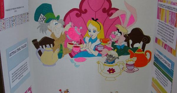 Alice In Wonderland Book Report Ideas : Alice in wonderland reading fair projects