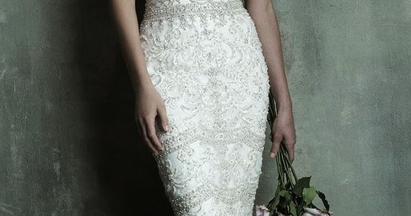 Allure Couture Spring 2014 Bridal Collection - Style C288. Reminiscent of Baroque