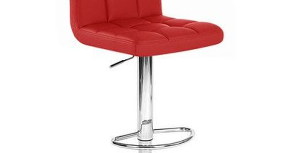 ADJUSTING HEIGHT BARSTOOL CHAIR-BORIS MODERN LEATHER BAR STOOL ADJUSTABLE NEW