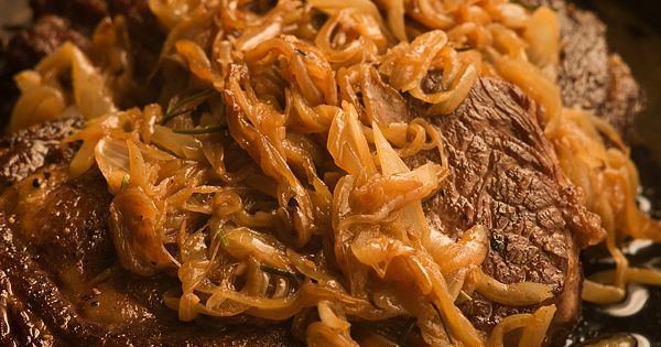 Pan-Roasted Steak with Browned Onions | Foodie | Pinterest | Chef ...