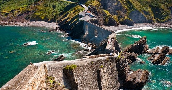 San Juan de Gaztelugatxe. Gorgeous! And if you reach the little temple