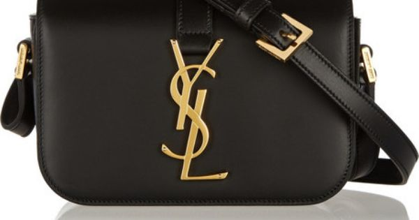 Saint Laurent Monogramme Sac Universite Small Leather Shoulder Bag