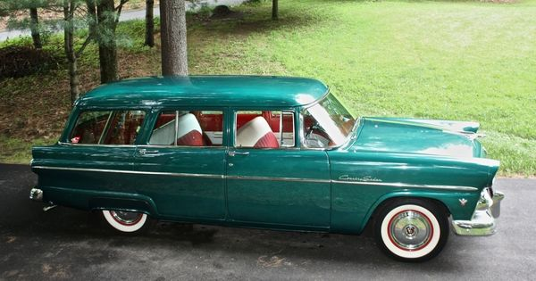 55 Ford Wagon Customline Country Classic Station Wagon