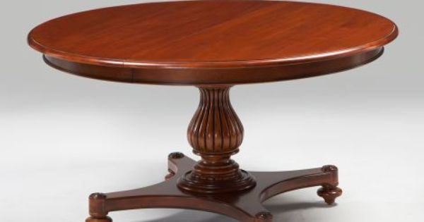 Ethan Allen Large Camden Table Opens To 76 Quot And Seats 8
