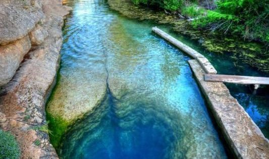 Sssshhh! You're going to fall in love with the otherworldly Jacob's Well, Texas. Click for USA's best kept secrets... spon adventure