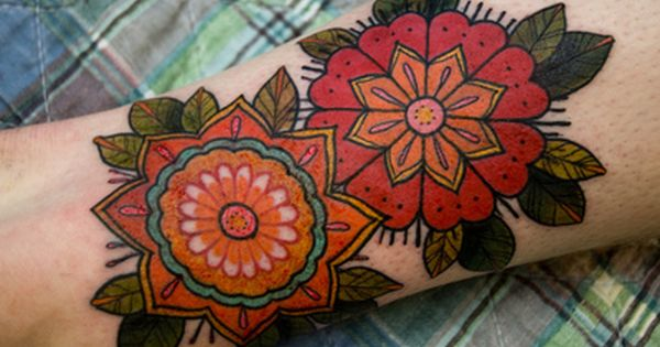 Beautiful Floral Arm Tattoo arm tattoo, beautiful floral tattoo, floral tattoo, tattoo