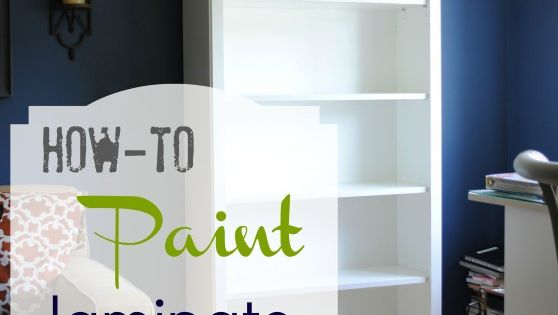 Diy Projects: DIY How-To Paint Laminate Furniture