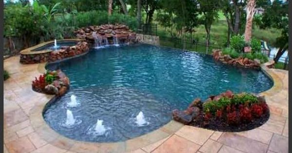 swimming pool ideas for garden or backyard 6 - Backyard Swimming Pool Design