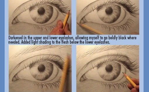 Photorealism Tutorial: how to draw eyes