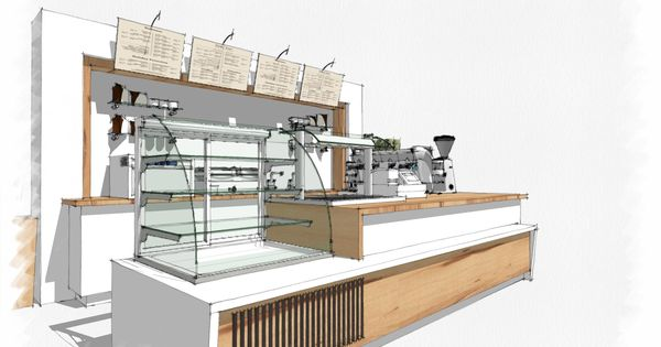 Coffee bar sketchup shop pinterest
