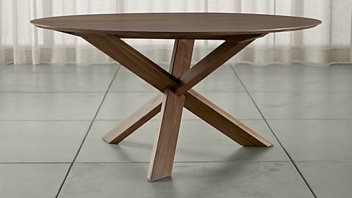 Apex 64 Round Dining Table Reviews Crate And Barrel Dining