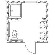 Pin By Scott Allen On Lickskillet Landing Housebuild Floor Plans Tiny Bathrooms Flooring