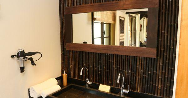 Bali Lodge Salle De Bain Avec 2 Vasques Et Douche A L Italienne