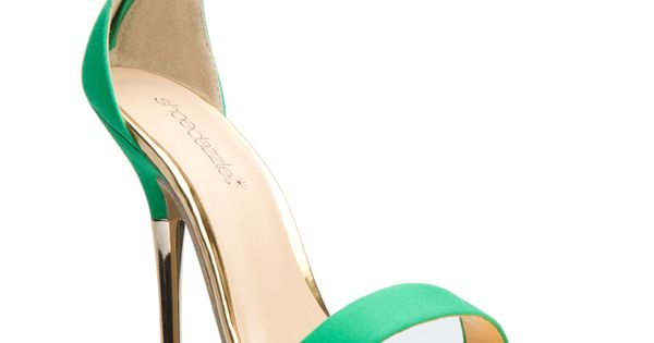 green/gold strap stiletto girl fashion shoes fashion shoes my shoes shoes girl
