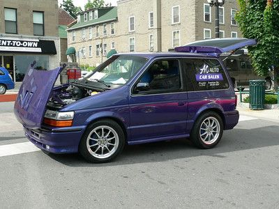 1991 Dodge Caravan Shortened 34 Custom Wheels Mustang Wheels