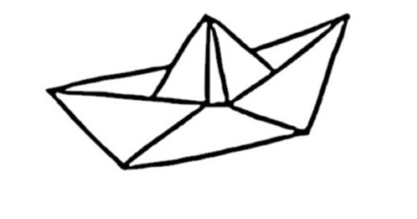 bateau origami forme flex thermocollant customisation v u00eatement pas si godiche     autres pi u00e8ces