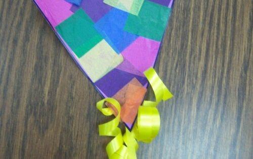 Craft Preschool Kite