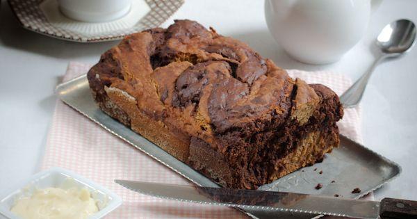 ... chocolate swirl banana bread!   Gluten Free (Almost GF) Recipes