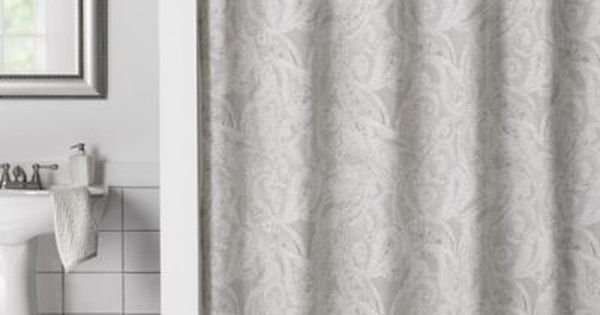 Buy Flatiron Linen Paisley 72 Inch X 96 Inch Shower Curtain From