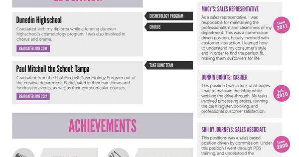 Free Cosmetology Resume Template Cakepins.com