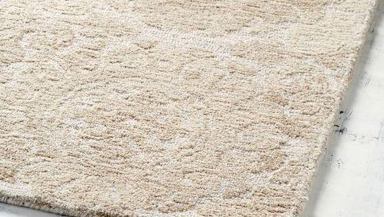 Kendyl Hand Tufted Wool Rug Khaki Frieze Carpet Tufted Rug Red Carpet Runner
