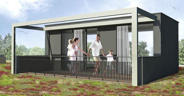 Goedkope opbouw onder architectuur ontworpen unit in tuin pinterest roof extension - Extensie dakterras ...