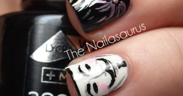 v for vendetta style finger nails