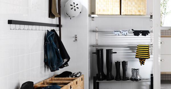 Ikea mudroom mudroom laundry room pinterest mudroom for Ikea beach towels