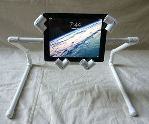 An Ipad Tablet Pvc Stand Anyone Can Make Mebel Iz Pvh