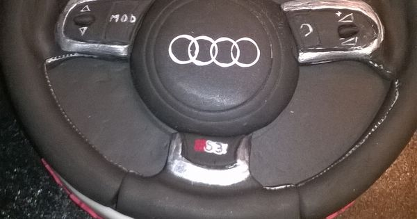 Audi Steering Wheel Boys Cakes Pinterest Cake Car
