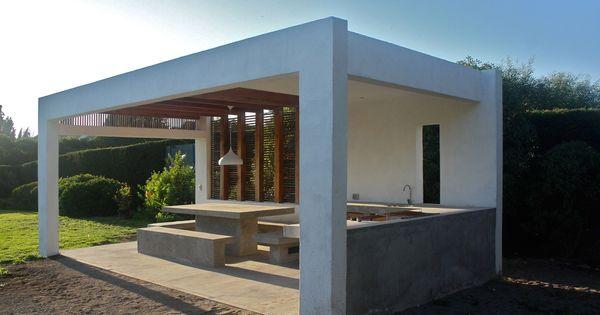 Quincho marbella l2r arquitectos terrazas y quinchos - Barbacoas prefabricadas baratas ...