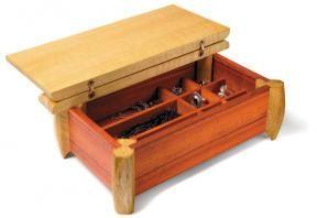 Make A Jewelry Box Canadian Home Workshop Wooden Jewelry Boxes Jewelry Box Plans Woodworking Box