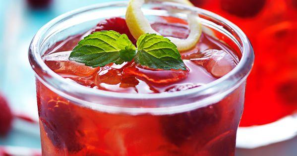Gin fizz, Gin and Raspberries on Pinterest
