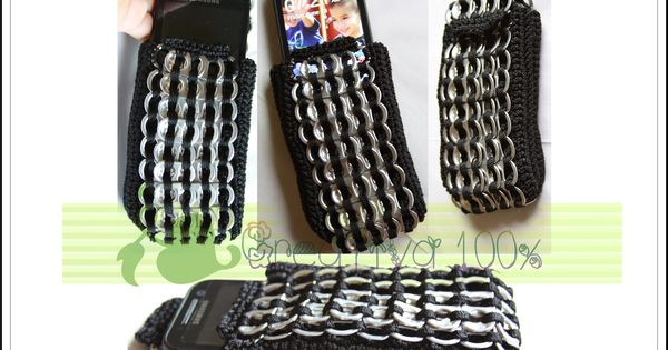 Cell phone case | Crafts to make | Pinterest | Cell phone cases, Pop tabs and Craft