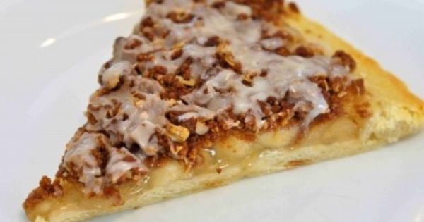 Check out Apple Doozie (Dessert Pizza). It's so easy to