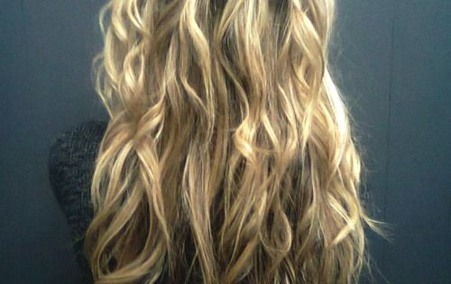 :: long hair :: wavy hair :: waterfall braid :: braid ::