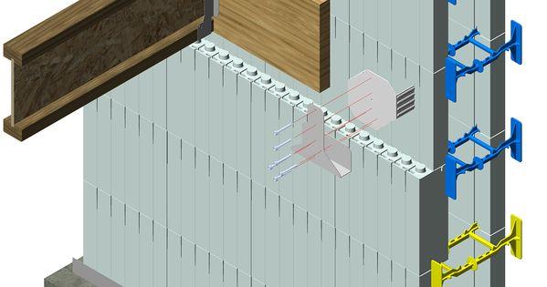 Icf Floor Ledger Attachment Simpson Icfvl Attach Ledger