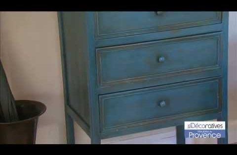 Meubles de provence les d coratives peinture effet for Peinture meuble effet vieilli