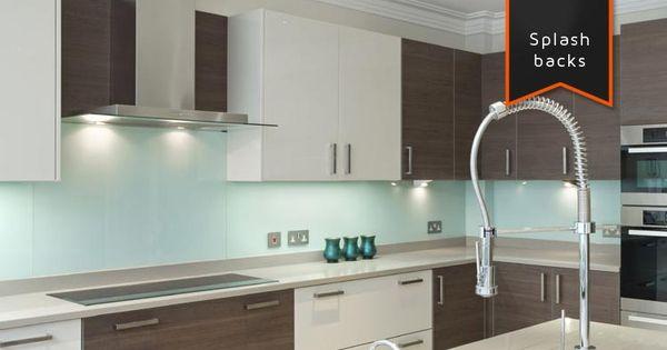 Star glass kitchen splashback kitchens pinterest for Cheap kitchen splashback ideas