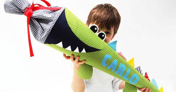 schult ten schult te krokodil ein designerst ck von josefines kinder bei dawanda. Black Bedroom Furniture Sets. Home Design Ideas