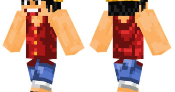 Monkey D Luffy Skin For Minecraft Pe Minecraft Pocket Edition Download Free Mcpe Box Luffy Monkey D Luffy Skins For Minecraft Pe
