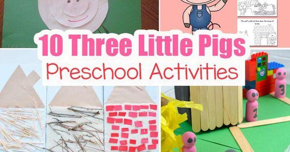 Preschool Three Little Pigs Craft