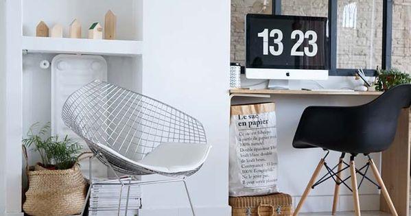 diy ma verri re d 39 int rieur esprit atelier d 39 artiste fait maison fen tre atelier et petit. Black Bedroom Furniture Sets. Home Design Ideas