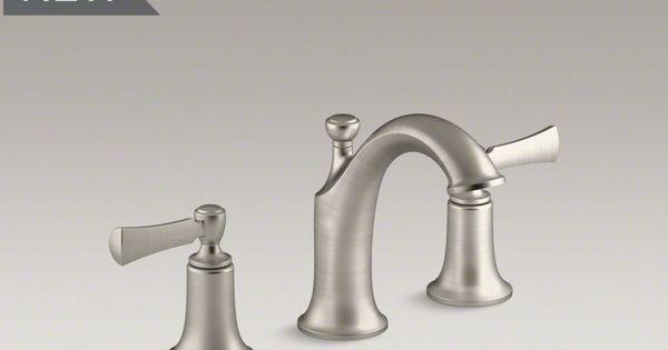 Kohler Elliston Sink : kohler Elliston wideset K-R72781-4D-BN Bathroom Makeover Pinterest ...