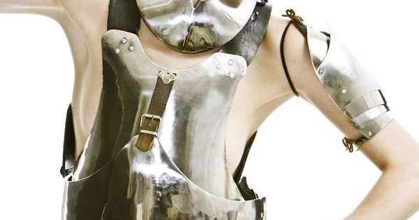 47 Warrior Fashion Finds - From Gawky Warrior Editorials to Studded Warrior
